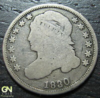 1830 CAPPED BUST DIME  --  MAKE US AN OFFER  W3674 ZXCV