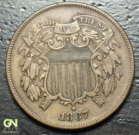 1867 2 CENT PIECE  --  MAKE US AN OFFER  Y8164