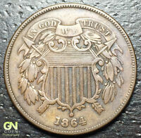 1864 2 CENT PIECE  --  MAKE US AN OFFER  Y8157