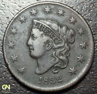 1832 CORONET HEAD LARGE CENT --  MAKE US AN OFFER  Y8188