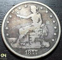 1877 P TRADE DOLLAR     MAKE US AN OFFER  W3223 ZXCV
