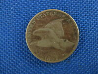 1857 U.S. FLYING EAGLE CENT COIN