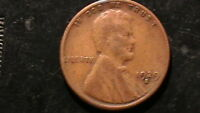 1929-S LINCOLN CENT CHERRY BROWN  BEAUTY     293A6