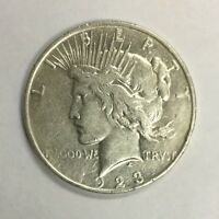 PEACE SILVER DOLLAR   CULL   MIXED DATES