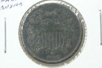 1866 TWO CENT G SURFACE CORROSION