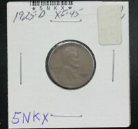 1925-D WHEAT CENT EXTRA FINE