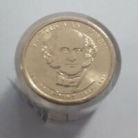 2008 P MARTIN VAN BUREN PRESIDENTIAL DOLLAR 12 COIN UNCIRCULATED ROLL H MVB17