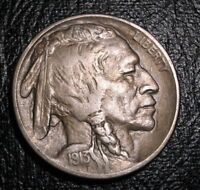 OLD US COINS  HIGHGRADE 1913 TYPE 2 BUFFALO NICKEL 5 CENT BEAUTY