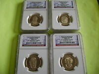 2009-S NGC PF70 ULTRA CAMEO PRESIDENTIAL 4-COIN DOLLAR PROOF SET