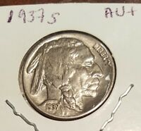 GORGEOUS DETAILS ON SOUGHT AFTER 1937S BUFFALO NICKEL OF COLLECTOR'S CHOICEST