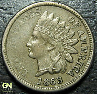 1863 INDIAN HEAD CENT  --  MAKE US AN OFFER  Y7503