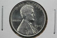1943 WHEAT CENT MS STEEL WORLD WAR TWO