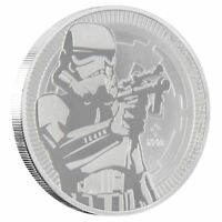 2018 STAR WARS STORMTROOPER 1 OZ SILVER NIUE COIN | NOW SHIPPING