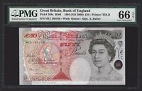 1994  2006  GREAT BRITAIN BANK OF ENGLAND 50 POUNDS PMG 66 E