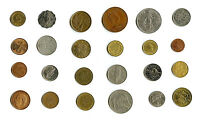 24 WORLD COINS 1/4 POUND LB MANY COUNTRIES SEE ACTUAL PHOTOS LOT S2