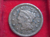 1849 CENT  FROM THE UNITED STATES FROM MY COLLECTION [E30]