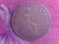 GREAT BRITAIN   ONE   PENNY   1936