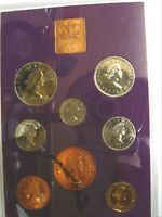 1970 SPECIAL ROYAL MINT PROOF COINS OF GREAT BRITAIN LAST PRE DECIMAL 8 COINS