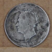 1826 GEORGE IV SHILLING ANTIQUE BRITISH SILVER COIN
