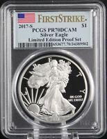 2017 S SILVER EAGLE LIMITED EDITION PROOF PCGS PR 70 DCAM FI
