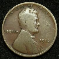1912 LINCOLN WHEAT CENT PENNY G GOOD  B04