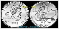 CANADA 2007 CANADIAN QUARTER DOLLAR OLYMPIC WHEELCHAIR CURLING 25 CENT COIN UNC