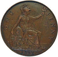 1922 GREAT BRITAIN UK PENNY BRONZE COIN ACTUAL PHOTOS SHOWN LOT A223