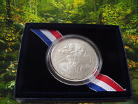 2010 BOY SCOUTS OF AMERICA CENTENNIAL SILVER DOLLAR WITH MINT BOX & COA BY2 NEW