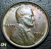 1934 D LINCOLN CENT WHEAT CENT  --  MAKE US AN OFFER  Y8357