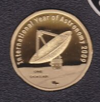 2009 $1 COIN PROOF INTERNATIONAL YEAR OF ASTRONOMY AUSTRALIA