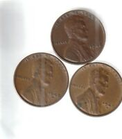 1948 P D S   EXTRA FINE   LINCOLN CENTS   ALL 3 PDS MINTS 1948 YEAR SET  112061