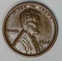 1916 P 1C LINCOLN CENT WHEAT CENT EXTRA FINE EXTRA FINE /AU A-40