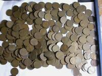 LINCOLN WHEAT CENTS LOT 1925-S 300 GOOD TO FINE THAT ARE  COINS -IDK984