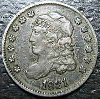 1831 CAPPED BUST HALF DIME  --  MAKE US AN OFFER  W5248 ZXCV