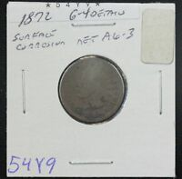 1872 INDIAN CENT AG