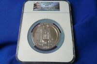 LOWEST PRICE 2010 HOT SPRINGS 5 OZ ATB .999 SILVER ROUND COIN NGC MINT STATE 69