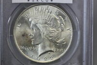 1922 PEACE DOLLAR PCGS MINT STATE 62