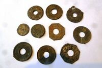 INDONESIA COLONIAL PALEMBANG SULTAN MAHMUD COIN MIX 10X NICE COINS  1