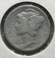 1945 MERCURY SILVER DIME MICRO.COLLECTOR COIN FOR YOUR SET OR COLLECTION. 8
