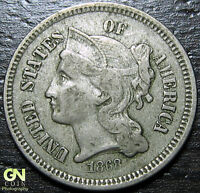 1868 3 CENT NICKEL PIECE  --  MAKE US AN OFFER  Y9025