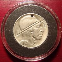 ORIGINAL VINTAGE 1937 HOBO BUFFALO NICKEL