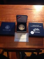 2009 P ABRAHAM LINCOLN COMMEMORATIVE SILVER DOLLAR IN SPECIAL BOX US DC  PROOF