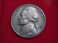1961 SILVER  FIVE CENT COIN FROM THE UNITED STATES