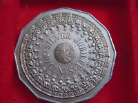 1977 ELIZABETH 11 FIFTY CENT  FROM AUSTRALIA TO COM THE QUEENS SILVER JUBILEE