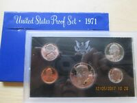1971 S US PROOF SET 5 COIN SET