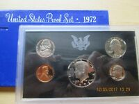 1972 S US PROOF SET 5 COIN SET