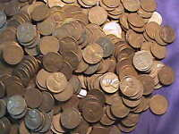 ALMOST FREE TO GOOD HOME CULL LOT OF 50 WHEAT PENNIES  CULLS TO GOOD COINS