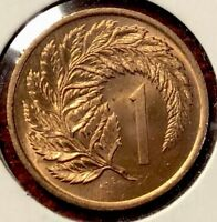 1967 NEW ZEALAND 1 CENT COIN