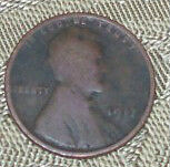 1917 LINCOLN WHEAT PENNY