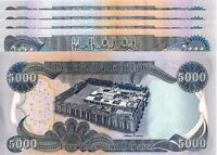 25 000 IRAQI DINAR  5 5K BANKNOTES OFFICIAL CURRENCY   AUTHENTIC   FAST DELIVERY